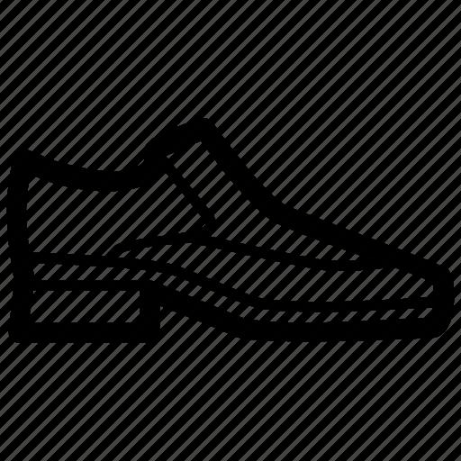 dress, foot, footwear, leather, men, shoe icon