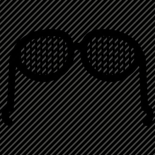 glasses, spectacles, sunglasses, uv, vision, visual icon