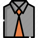 bag, clothes, clothing, man, office, professional, wear icon