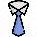 clothes, clothing, man, manoffice, professional, tie, wear icon