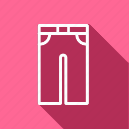 bag, clothes, clothing, fashion, full pant, man, woman icon