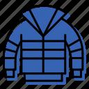 clothes, jacket, wear icon