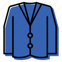 clothes, coat, jacket icon