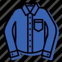 clothes, long, shirt icon