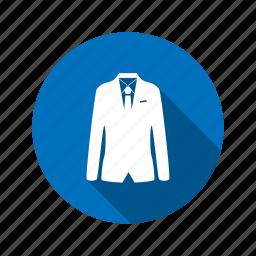 agent, business, businessman, clothes, coat, male, people, suit, tie icon