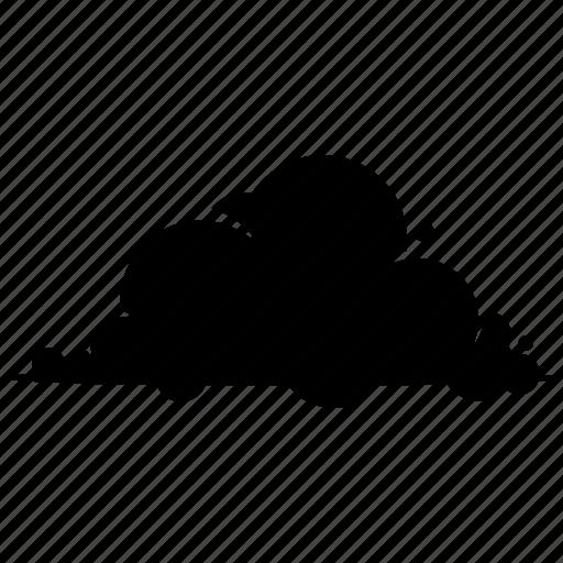 cloud, cumulus, fluffy icon