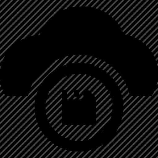 cloud, computing, save, server, storage icon