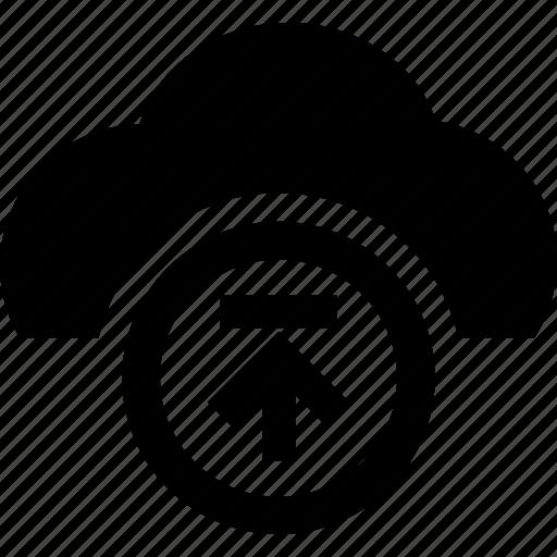 cloud, computing, database, server, storage, upload icon