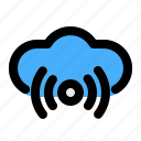 cloud, communication, connection, data, network, storage icon