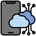 smartphone, cloud, computing, networking, storage