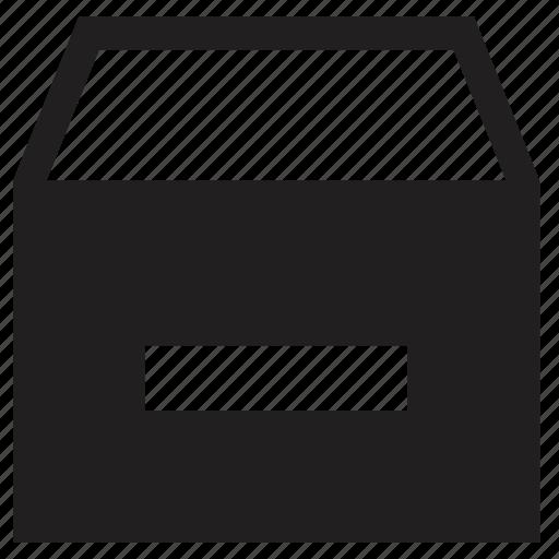 remove, storage icon