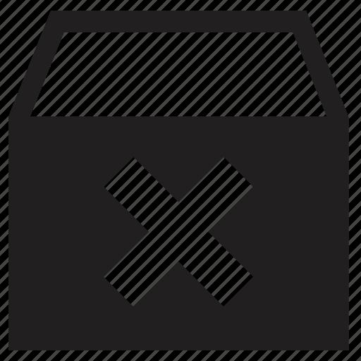 delete, storage icon