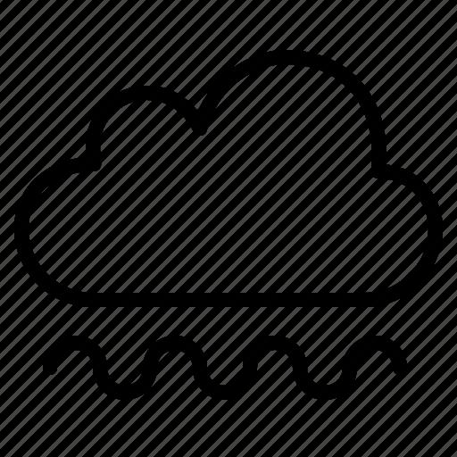 air, air pressure, cloud, rainy, sun, weather icon