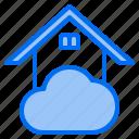 cloud, home, mark, rain, sunny, time, windy