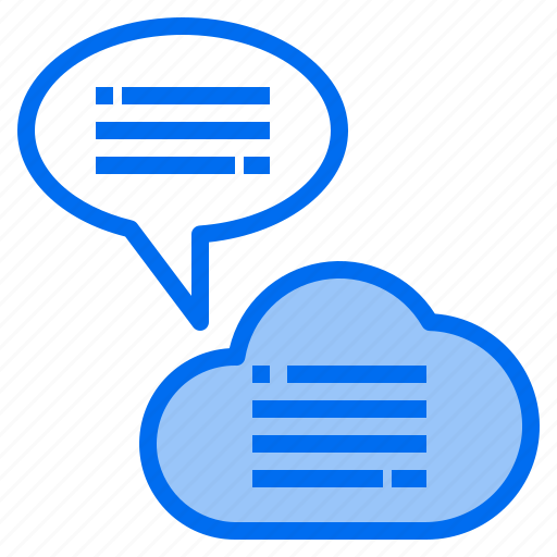 Cloud, mark, message, rain, sunny, time, windy icon - Download on Iconfinder
