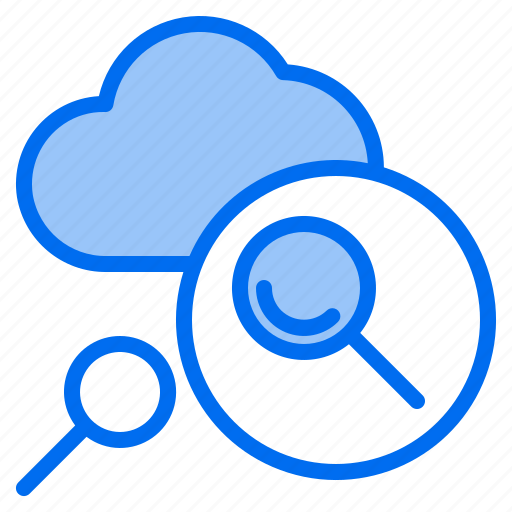 Cloud, mark, rain, search, sunny, time, windy icon - Download on Iconfinder