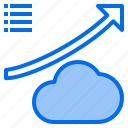 cloud, mark, rain, sunny, time, up, windy icon