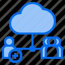 add, cloud, mark, rain, sunny, time, user