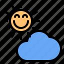 cloud, mark, rain, sun, sunny, time, windy