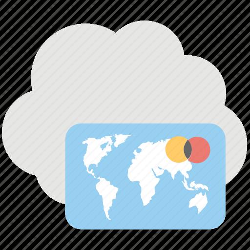 cloud ebanking, cloud service, ebanking, electronic transaction, online banking icon