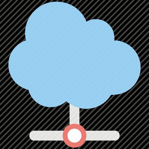 cloud computing, cloud sharing network, cloud storage, private cloud, private cloud storage icon