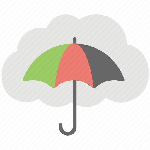 cloud computing concept, cloud computing umbrella, cloud service umbrella, spam protection, umbrella cloud icon