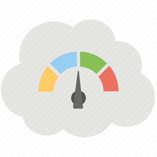 cloud at speed, cloud backup speed, cloud internet speed, cloud network performance, cloud speed calculation icon