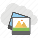 cloud photo storage, cloud storage, cloud storage app, online storage, personal cloud icon