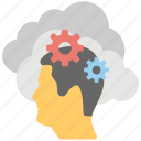 cloud computing brainstorm, cloud computing creativity, cloud computing idea generating, cloud computing inspirations, cloud conceptualizing icon