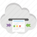 cloud storage, document to go, file backup, icloud drive, iphone office icon