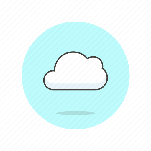 cloud, computing, data, file, server, storage, technology icon
