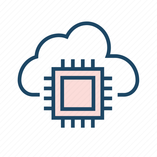 cloud computing, cloud network, cloud storage, connection, data center icon