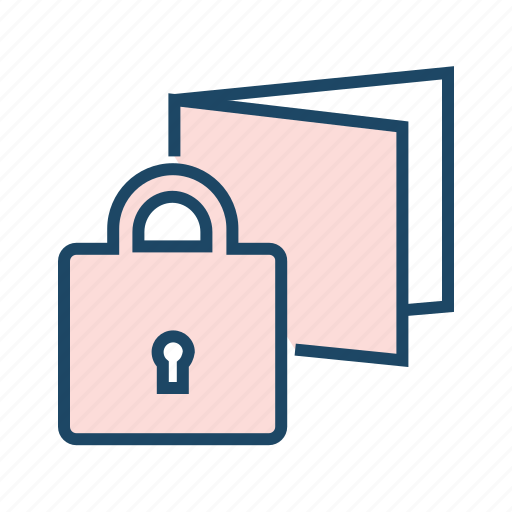 cloud storage, protected storage, secured drive, secured folder icon