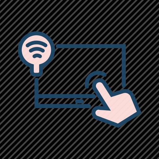 adaptive, click, data tranfer, turn on wifi, wifi on icon