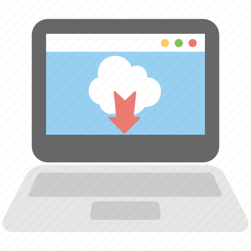 cloud computing, cloud data transfer, cloud downloading, cloud network, cloud storage icon