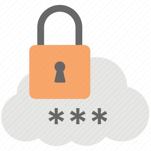cloud data protection, cloud encryption, cloud storage and data encryption, cloud storage encryption lock, encrypted cloud storage icon