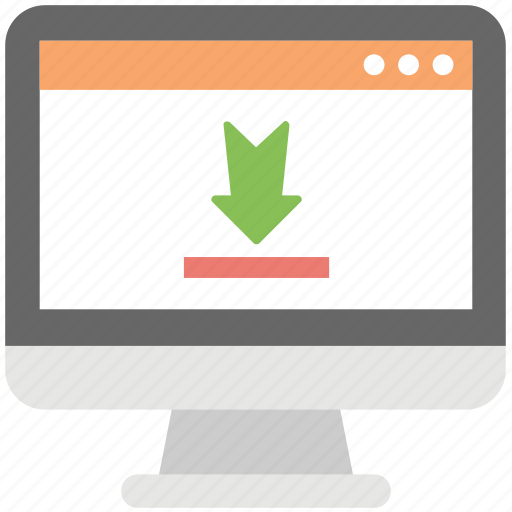data download, download file, online downloading, receive file, save file icon