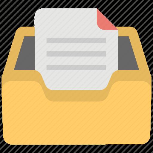 data storage, email inbox, file storage, inbox icon