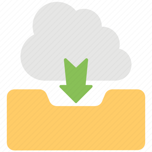 cloud computing, cloud data transfer, cloud downloading, cloud network, cloud storage icon
