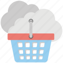 buy online, cloud shopping, ecommerce, eshop, eshopping icon