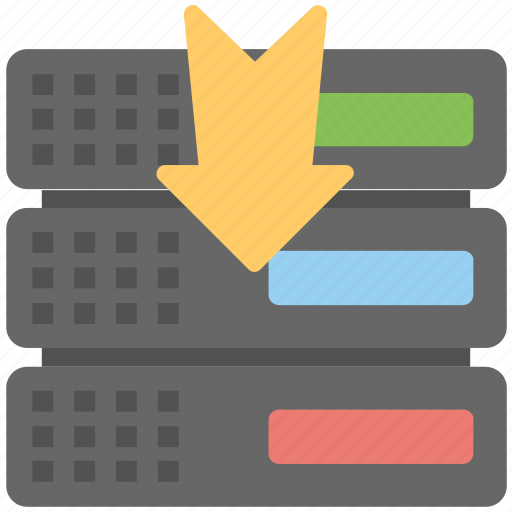 backup, backup solutions, database recovery, download server, server backup icon