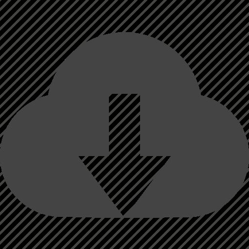 cloud, connect, down, remote icon