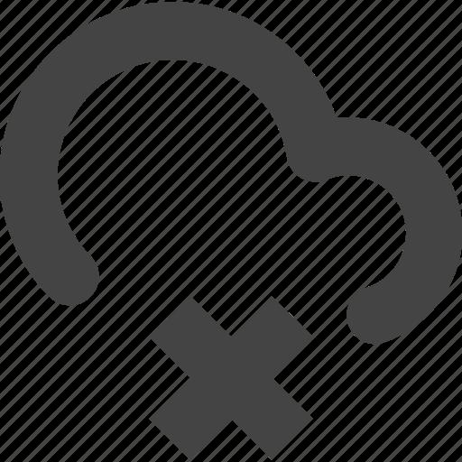 cdn, cloud, connect, delete, remote icon