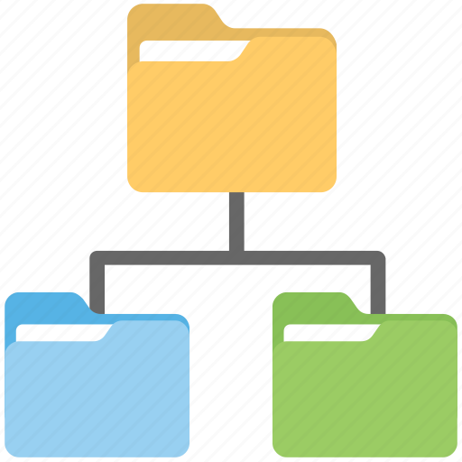 data center, data network, data sharing system, information sharing network, shared folder icon