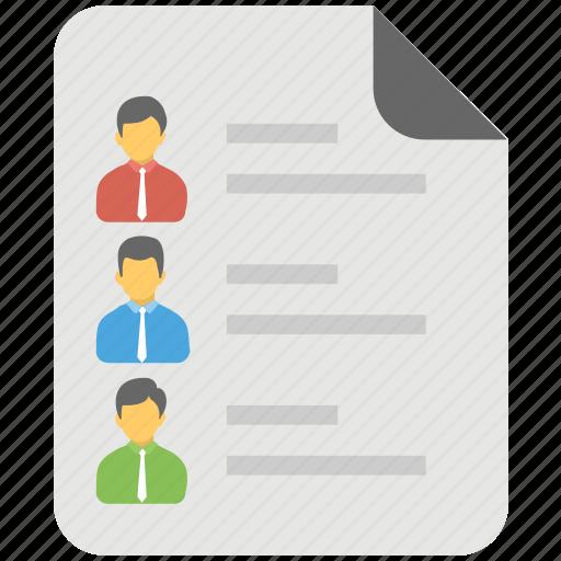 candidates details, employee details, recruitment, staff detail, worker sheet icon