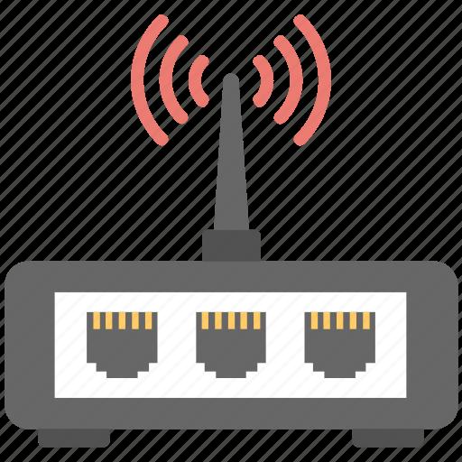 lan modem, local area network, modem, wifi, wifi router icon