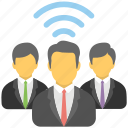 business hotspot, business wifi, business wireless networking, wifi system, wifi zone icon