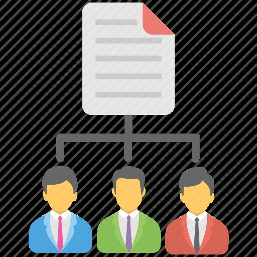 business management, data controller, data management, data manager, management concept icon