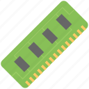 computer hardware, computer memory, computer ram, ram, random access icon