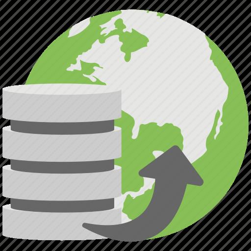 data entry, data server, database, database transformation, sql transformation icon